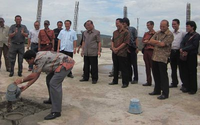 Acara Topping Off Laboratorium Graha SIG – Bogor