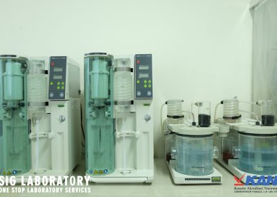 BUCHI Distilation Unit