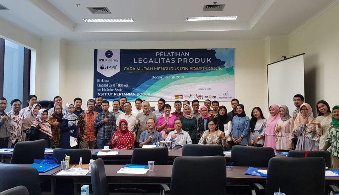 """PRESS RELEASE Sponsorship """"Pelatihan legalitas produk oleh STP-IPB"""""""