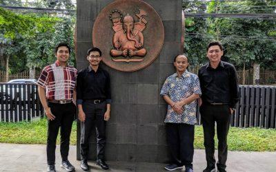 SIG Laboratory melakukan study visit ke Laboratorium Mikroelektronika Lab. PAU Institut Teknologi Bandung.